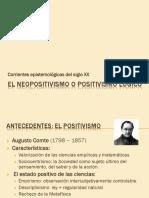 2- El neopositivismo o positivismo l+_gico