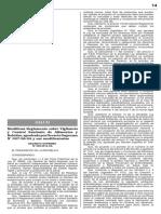 DS 038-2014-SA - Modifican Reglamento sobre Vigilancia y Control Sanitario de Alimentos y Bebidas, aprobado por Decreto Supremo N° 007-98-SA y sus modificatorias