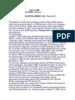 Consolidation of Civil Cases - PNB vs. Gotesto