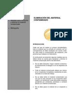 ELIMINACIÓN DEL MATERIAL CONTAMINADO