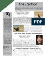 March 2008 Redpoll Newsletter Arctic Audubon Society