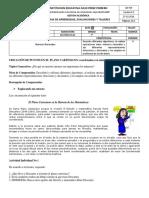 Guía Plano Cartesiano II P