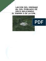 6.3 Informe de Drenaje Pluvial