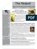 November 2009 Redpoll Newsletter Arctic Audubon Society