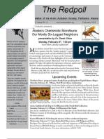 February 2010 Redpoll Newsletter Arctic Audubon Society