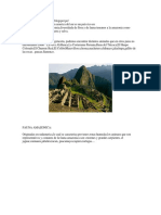 El Perú Es Un País Situado en America Del Sur Es Un País Rico en Costumbres