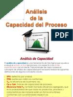A. Analisis Capacidad Del Proceso 2018