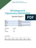 62.3 2d Pythagoras Trigonometry -Cie Igcse Maths 0580-Ext Theory-qp