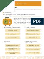 contenidos para aprender segundo lengua castellana