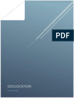 Manual para Geolocalización HTML