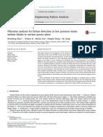 Steam Turbine Blade Failure Analysis