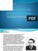 Caso Almonacid Arellano