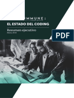 Resumen Ejecutivo Informe Immune Estado Del Coding