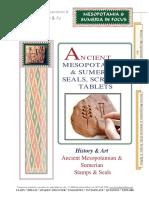 Mesopotamia Sumeria Seals, Scripts, Tablets
