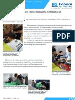 Novas Formas de Ensinar - Ciência Maker - Fábrica de Nerdes