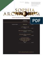 Sophia Arcanorum n.0 - 4° trim. 2010