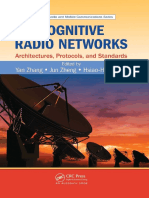 (Wireless Networks and Mobile Communications) Yan Zhang, Jun Zheng, Hsiao-Hwa Chen-Cognitive Radio Networks_ Architectures, Protocols, And Standards (Wireless Networks and Mobile Communications)-CRC P