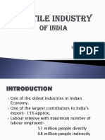 SWOT Analysis of Indian Textile Industry