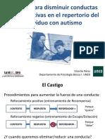 4. Técnicas Para Disminuir Conductas Desadaptativas en El Repertorio Del Individuo Con Autismo