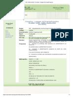 EMENTA - Análise Organizacional