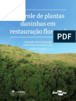 Livro - Controle de Plantas Daninhas Em Restauração Florestal