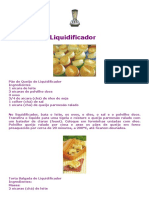eBook AlvarinaNunes Receitas de Liquidificador