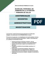Rol de La Enfermera en Atención Primaria en Salud Lic Berth