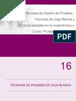 09 - Tecnicas de Diseño de Pruebas - Caja Blanca p1