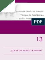 08 - Tecnicas de Diseño de Pruebas - Caja Negra