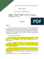 2 Areza v. Express Savings - Material Alteration