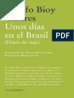 Adolfo Bioy Casares_Unos días en el Brasil