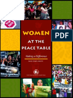 Women at the Peace Table -Making a Difference