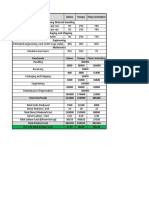 Destin Brass Products Co Case Worksheet