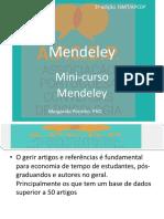 mini curso mendeley