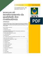 Boletim de monitoramento da qualidade dos combustíveis maio de 2018