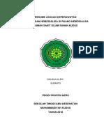 Resume Askep Hemodialisa