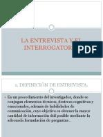 Diferencia Entrevista e Interrogatorio