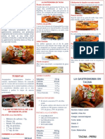 gastronomia de tacna  nutrientes  y turistas