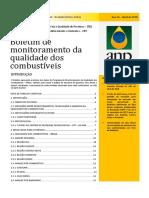 Boletim de monitoramento da qualidade dos combustíveis abril 2018