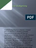 1Capital Budgeting