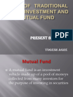 Study of Traditional Way of Investment and Mutual