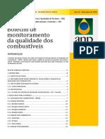 Boletim de monitoramento da qualidade dos combustíveis dezembro 2016