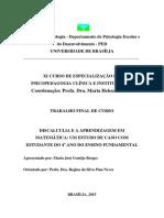 - Consciência Fonológica - livro de atividades 1