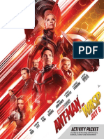 ant-man and the wasp activity packet