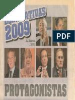 Protagonistas Legisladores 2009 Rosario, Santa Fe.