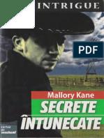 Mallory Kane Secrete Intunecate