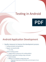 testing in android