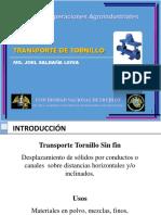 Clase 7- Transporte de materiales Tornilli  3° Unidad