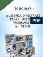 NTC ISO 5667-1