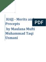 Hajj-Merits and Precepts by Mufti Muhammad Taqi Usmani